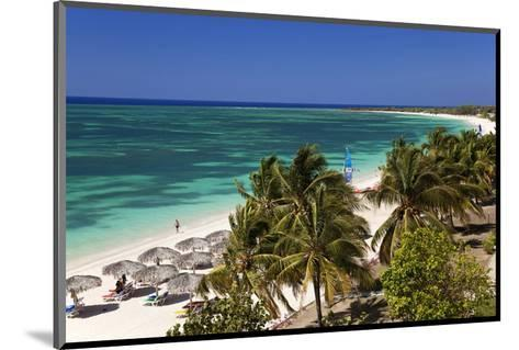 Playa Ancon Beach near Trinidad, Cuba--Mounted Art Print