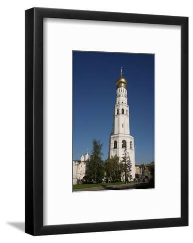 Ivan the Great Bell Tower at the Cathedral Square on the grounds of the Moscow Kremlin--Framed Art Print