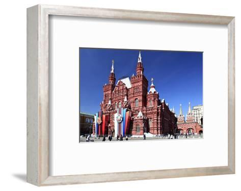 State Historical Museum, Moscow, Russia--Framed Art Print