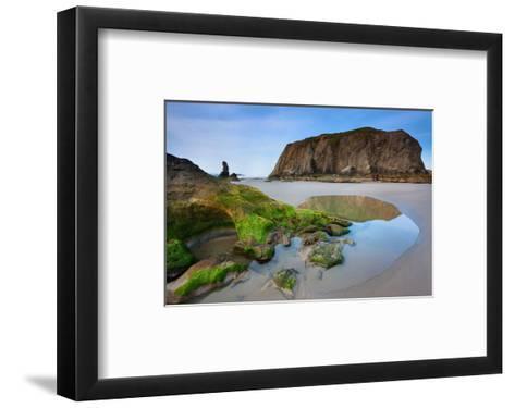 Beach near Bandon, Oregon, USA--Framed Art Print