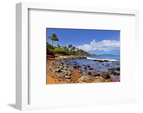 Kanaha Beach Park near Paia, Island of Maui, Hawaii, USA--Framed Art Print