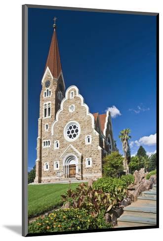Christ church in Windhoek, Namibia--Mounted Art Print