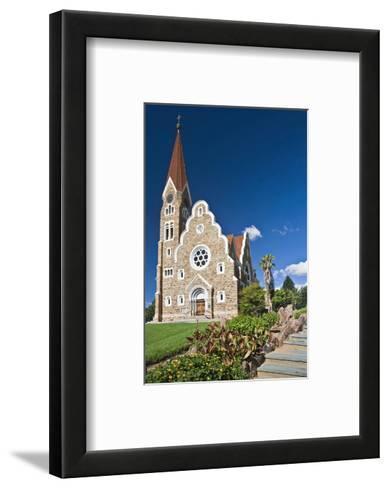Christ church in Windhoek, Namibia--Framed Art Print