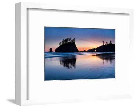 Second Beach at Olympic National Park, Washington, USA--Framed Art Print