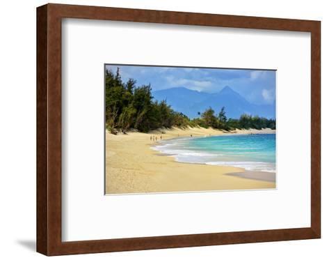Baldwin Beach Park near Paia, Island of Maui, Hawaii, USA--Framed Art Print
