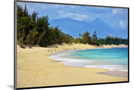 Baldwin Beach Park near Paia, Island of Maui, Hawaii, USA--Mounted Art Print