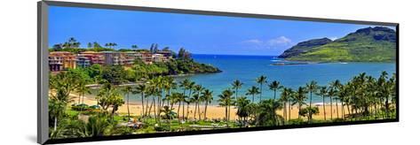 Kalapaki Bay at the Marriott Hotel, Lihue, Island of Kauai, Hawaii, USA--Mounted Art Print