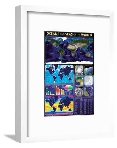 Oceans & Seas--Framed Art Print