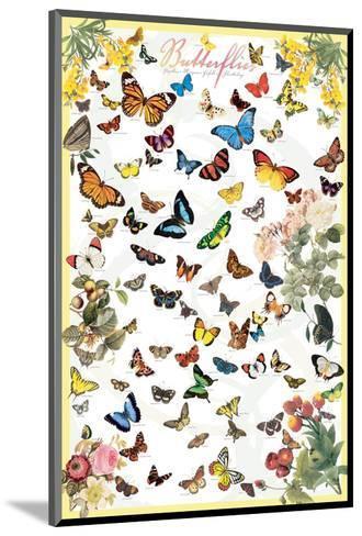 Butterflies--Mounted Art Print