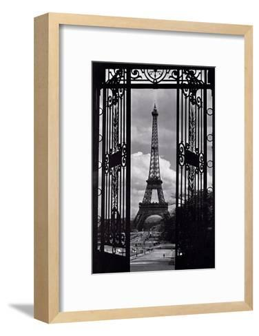 Paris View--Framed Art Print