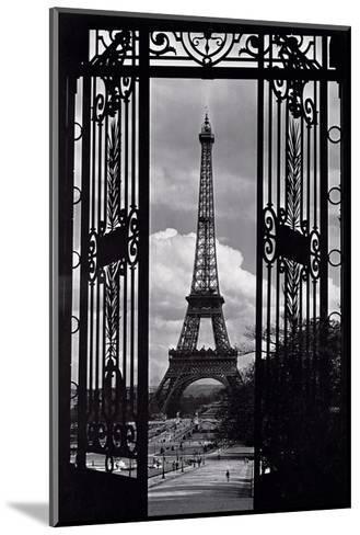 Paris View--Mounted Art Print