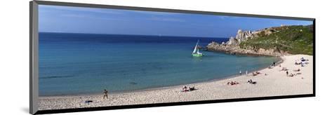 Santa Teresa Gallura Beach, Province of Olbia-Tempio, Sardinia, Italy--Mounted Art Print