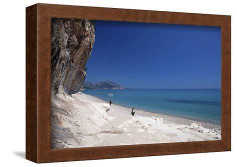 Cala Luna bay, Province of Nuoro, Sardinia, Italy--Framed Art Print