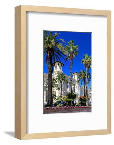 Casino in San Remo, Province of Imperia, Liguria, Italy--Framed Art Print