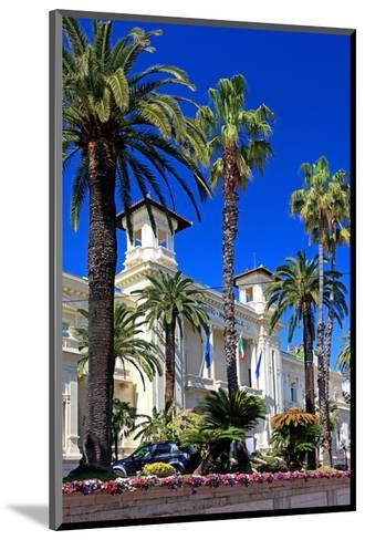 Casino in San Remo, Province of Imperia, Liguria, Italy--Mounted Art Print