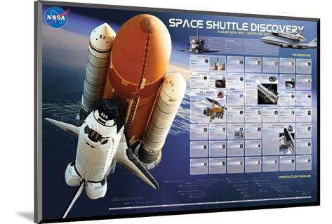 Shuttle Discovery Missions--Mounted Art Print