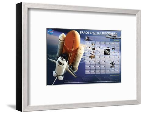 Shuttle Discovery Missions--Framed Art Print