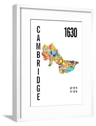 Cambridge, MA-J Hill Design-Framed Art Print