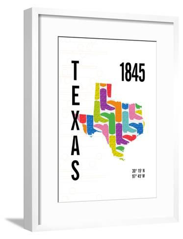 Texas-J Hill Design-Framed Art Print