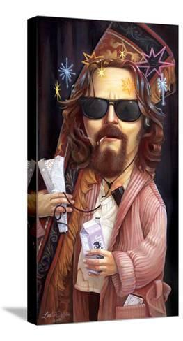 Lebowski-Leslie Ditto-Stretched Canvas Print