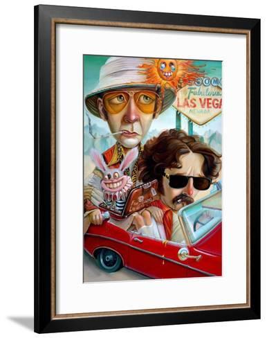Vegas Bound-Leslie Ditto-Framed Art Print