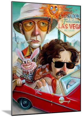 Vegas Bound-Leslie Ditto-Mounted Art Print