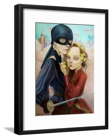 Princess Bride-Leslie Ditto-Framed Art Print