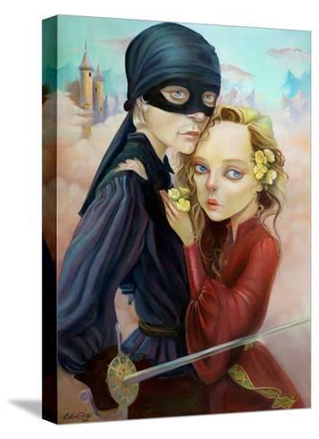Princess Bride-Leslie Ditto-Stretched Canvas Print