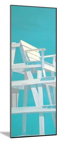 Life Guard Stand (turquoise)-Carol Saxe-Mounted Art Print