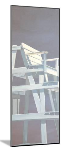 Life Guard Stand (grey)-Carol Saxe-Mounted Art Print
