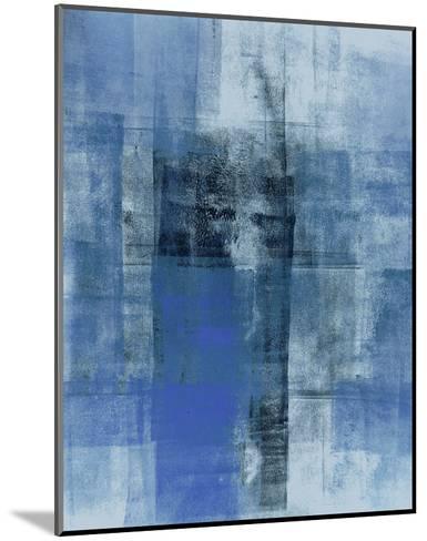 Cerulean Texture II-C^ Tice-Mounted Art Print