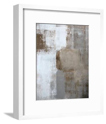 Neutral Texture I-C^ Tice-Framed Art Print