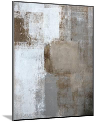 Neutral Texture I-C^ Tice-Mounted Art Print
