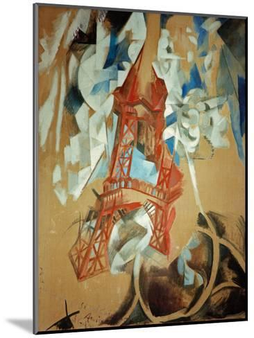 Eiffel Tower, 1910/11-Robert Delaunay-Mounted Giclee Print