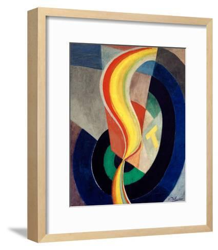 Helix, 1923-Robert Delaunay-Framed Art Print