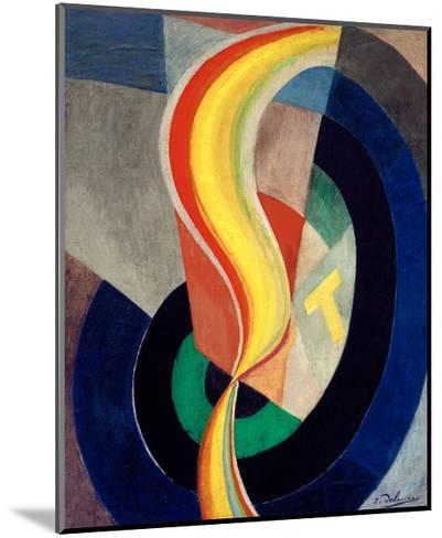 Helix, 1923-Robert Delaunay-Mounted Giclee Print