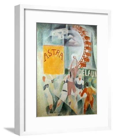 The Cardiff Team Astra, 1912/1913-Robert Delaunay-Framed Art Print