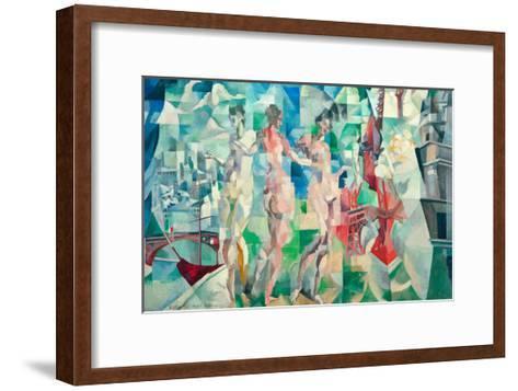 The City of Paris, 1910/12-Robert Delaunay-Framed Art Print