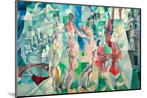 The City of Paris, 1910/12-Robert Delaunay-Mounted Giclee Print