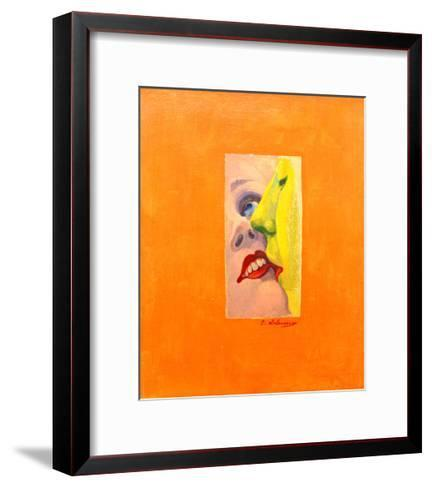 The Kiss, 1922/23-Robert Delaunay-Framed Art Print