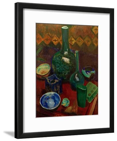 Blue Still Life, 1907/1908-Robert Delaunay-Framed Art Print