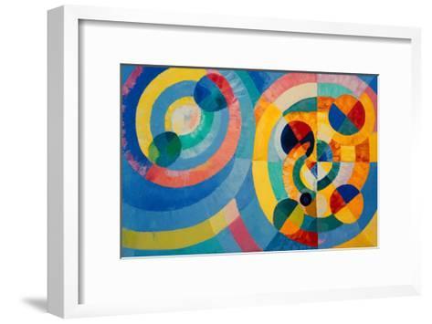 Circle Forms, 1930-Robert Delaunay-Framed Art Print