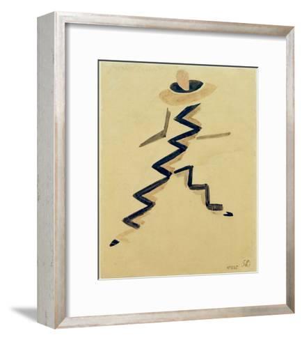 Dance Costume for the Film, The Little Parisian, 1926-Robert Delaunay-Framed Art Print