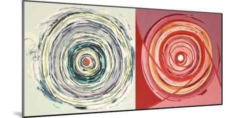 Target duo III-Nino Mustica-Mounted Art Print