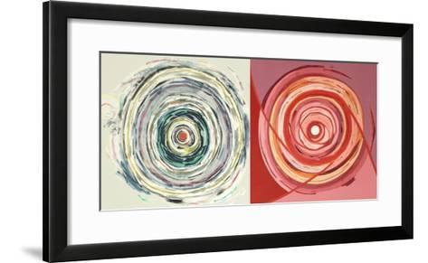 Target duo III-Nino Mustica-Framed Art Print