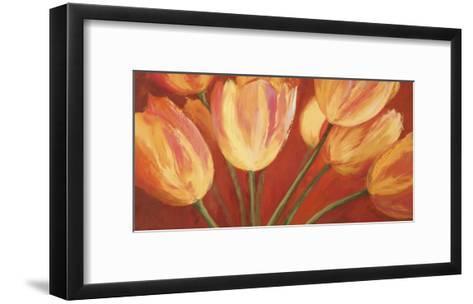 Orange Tulips-Silvia Mei-Framed Art Print