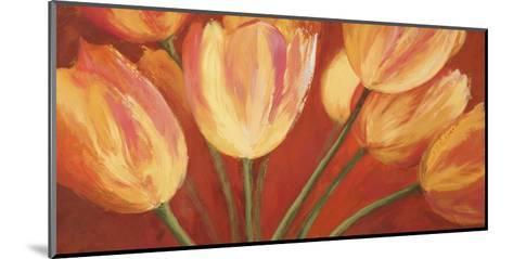 Orange Tulips-Silvia Mei-Mounted Art Print