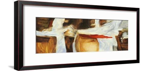 The sound of wood-Jim Stone-Framed Art Print