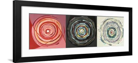 Target trio I-Nino Mustica-Framed Art Print