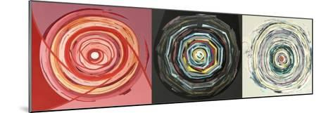 Target trio I-Nino Mustica-Mounted Art Print